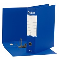 Registratore OXFORD Commerciale Colore Blu Dorso 8cm - Esselte G830500