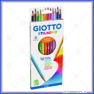 Pastelli Stilnovo astuccio confezione da 12 Giotto 256500
