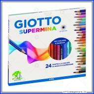 Pastelli Supermina astuccio confezione da 24 Giotto 235800