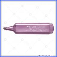 Evidenziatore Textliner 46 metallic brilliant ruby Faber Castell 154691