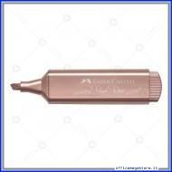 Evidenziatore Textliner 46 metallic pearl rose Faber Castell 154626