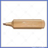 Evidenziatore Textliner 46 metallic glamorous gold Faber Castell 154650