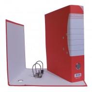 Registratore Rosso a 2 Anelli con meccanismo a Leva e Custodia - AQuattro 7802AQ300
