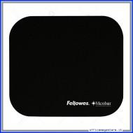 Tappetino Mouse Nero con microban antibatterico mousepad Fellowes 5933907