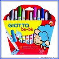 Pennarelli Giotto be-bè confezione da 12 Giotto Fila 466700