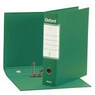 Registratore OXFORD Commerciale Colore Verde, Dorso 8cm - Esselte G831800
