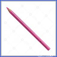 Evidenziatore a matita rosa Textliner Dry grip jumbo Faber Castell 114828