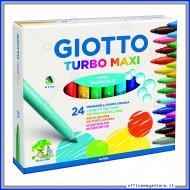Pennarelli Turbo Maxi astuccio confezione da 24 Giotto 455000