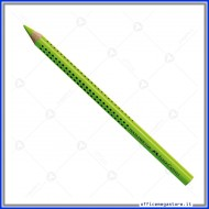 Evidenziatore a matita verde Textliner Dry grip jumbo Faber Castell 114863