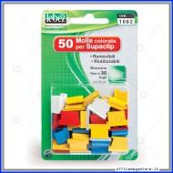 Molle Colorate Removibili per Supaclip  (conf.50 molle) Lebez 1062