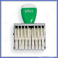 Numeratore 9 Colonne Caratteri Altezza 5mm Lebez 2233