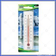 Termometro da Parete in Legno Bianco Lebez 80323