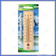 Termometro da Parete in Legno Lebez 80323