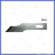 Lame di ricambio in acciaio per cutter C901 Wiler B64