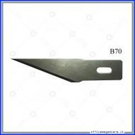 Lame di ricambio in acciaio per cutter C902 Wiler B70