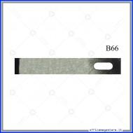 Lame di ricambio in acciaio per cutter C901 Wiler B66