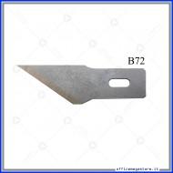 Lame di ricambio in acciaio per cutter C902 Wiler B72