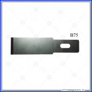 Lame di ricambio in acciaio per cutter C902 Wiler B75