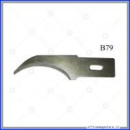 Lame di ricambio in acciaio per cutter C902 Wiler B79