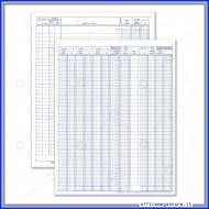 Registro IVA Acquisti 49 Pagine Numerate Gruppo Buffetti DU138826N00