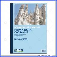 Primanota Cassa - Iva con colonne Entrate - Uscite - Partite Fuori Cassa Gruppo Buffetti DU1680C0000