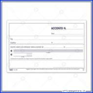 Ricevute di Acconto Sulla Retribuzione Gruppo Buffetti DU16251C000