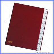 Classificatore Numerico in Dermoide 32 Scomparti Formato 24x34 Dorso a Soffietto Lebez 0255