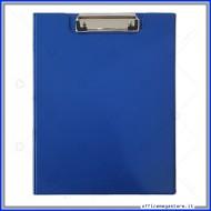 Tavoletta Portablocco con copertina Blu A4 con clip fermafogli Tecnoteam 789403