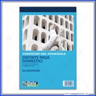 Blocco Distinte Paga Lavoratori Domestici 25 Fogli Gruppo Buffetti DU16539C000