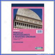 Parcelle Professionisti e Registro Onorari Blocco 50 Moduli a 2 Copie Autoricalcanti Numerate Gruppo Buffetti DU16544C000