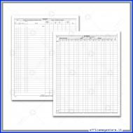 Registro Oli Minerali Mod. B ,Carico-Scarico Assoggettati ad accisa depositi commerciali Gruppo Buffetti DU1366B0000
