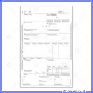 Lettera di Vettura Internazionale (CMR) Snap Out Gruppo Buffetti 183160000