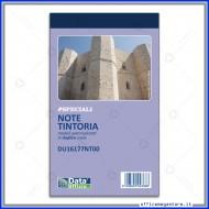 Blocco Note per Tintoria 50 moduli autoricalcanti Formato 17x10cm Gruppo Buffetti DU16177NT00