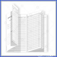 Registro Giornale del Professore 10 Classi con Orario Lezioni ed Elenco Gruppo Buffetti DU3325PS000