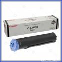 Toner Canon C-EXV18 Originale per Fotocopiatore iR 1018 / 1022 EXV18