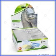 Portatessere trasparente e resistente in plastica, 100 salvatessere e carte di credito Lebez 3140T