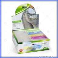 Portatessere colori assortiti e resistente in plastica 100 salvatessere e carte di credito Lebez 3140