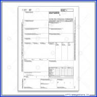 Lettera di Vettura Internazionale (CMR) Modulo Continuo Gruppo Buffetti DU18930M500