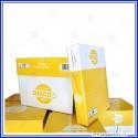 Carta A4 Disco1 80gms cartone 5 risme da 500 fogli bianca per fotocopie Burgo Distribuzione 8021047426518