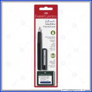 Stilografica Scolastica Punta M Nero Entry Level Faber Castell 149809