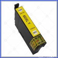 Epson T603XL Y inkjet cartridge giallo cartuccia compatibile alta capacità 3,5ml.