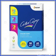 Risma di Carta 90g A3 Color Copy 500 fogli per stampa digitale a colori ad alta qualità Mondi 6317