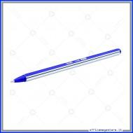 Barattolo da 50 Penne a Sfera Line Colore Blu Punta Media fusto esagonale bicolore con tappo Wiler BP02B