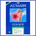 Carta traferimento termico per tesuti formato A4 (21x29,7) color CTT TC inkjet confezione da 10 Fogli speciali AS Marri 8200