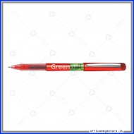 Penna roller Rosso Greenball point inchiostro liquido punta media 0.7 mm BL-GRB7-BG Pilot 040112