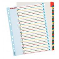 Rubrica Numerica Riscrivibile in Cartoncino A4 con Tasti Colorati da 1 a 31 - 100210