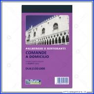 Blocco Comande a Domicilio 25 moduli in duplice copia autoricalcanti Data Ufficio Gruppo Buffetti SpA DU6153D1000