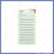 Stickers perle adesive 8mm colore azzurre lilla Wiler STKP411