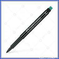Marcatore Punta M Nero Marker Multimark 1525 permanente OHP Faber Castell 152599