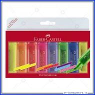 Evidenziatori Set da scrivania Textliner 1546 Fluo Set da 8 pezzi colori assortiti Faber Castell 154662